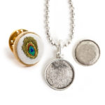 Jewelry Kits for Embroidery - Mini Circle Bezels
