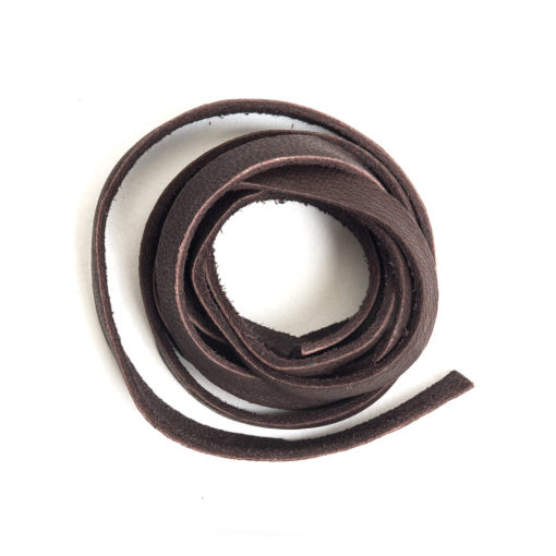 Kit Deerskin Lace 5mmChocolate