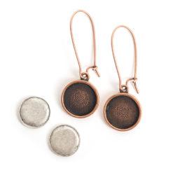 Kit Earring Mini CircleAntique Copper