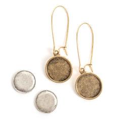 Kit Earring Mini CircleAntique Gold