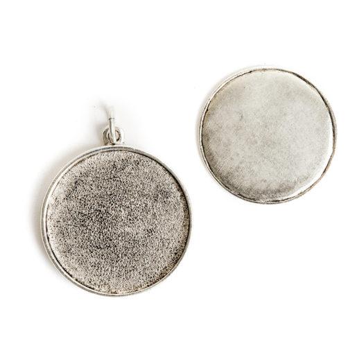 Kit Grande Circle 1 pack<br>Antique Silver 1