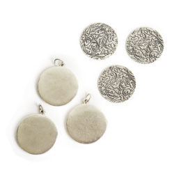 Kit Grande Circle 3 packAntique Silver
