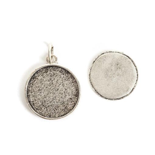 Kit Large Circle 1 packAntique Silver
