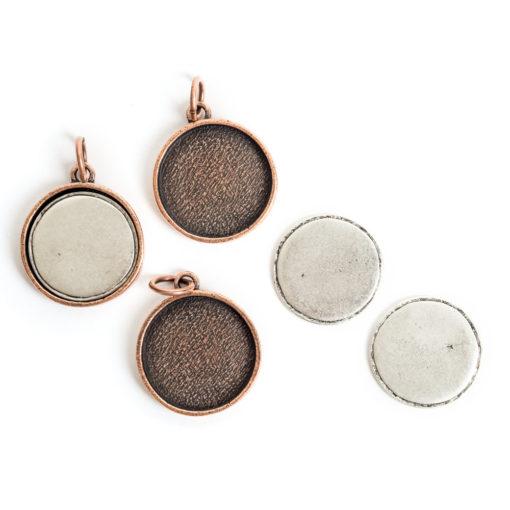Kit Large Circle 3 packAntique Copper