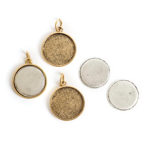 Kit Large Circle 3 packAntique Gold