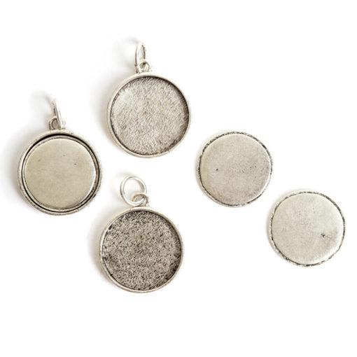 Kit Large Circle 3 packAntique Silver