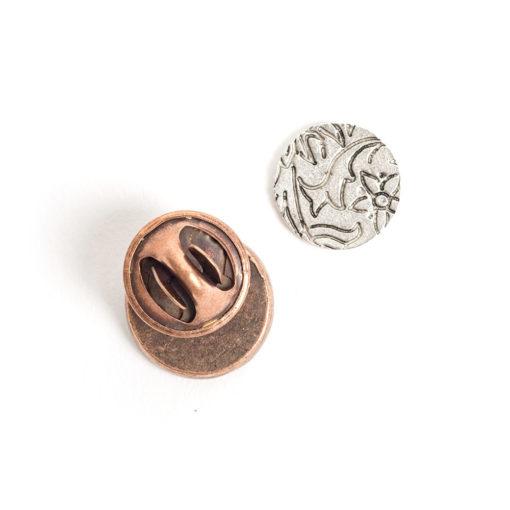 Kit Lapel Pin Mini CircleAntique Copper