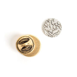 Kit Lapel Pin Mini CircleAntique Gold
