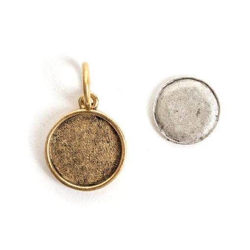 Kit Mini Circle 1 packAntique Gold