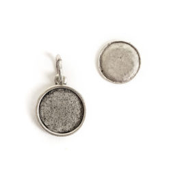 Kit Mini Circle 1 packAntique Silver