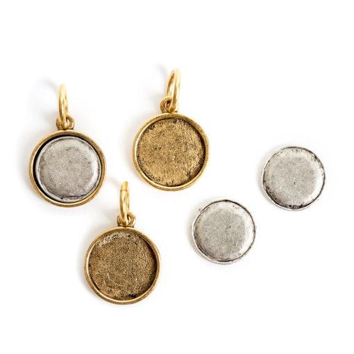 Kit Mini Circle 3 packAntique Gold