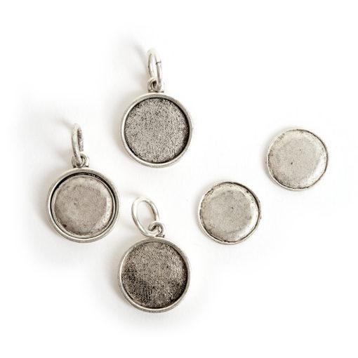 Kit Mini Circle 3 packAntique Silver