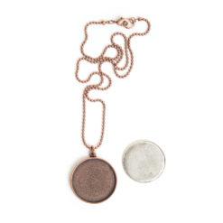 Kit Necklace Grande CircleAntique Copper