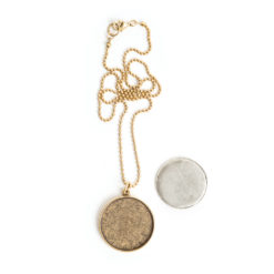 Kit Necklace Grande CircleAntique Gold