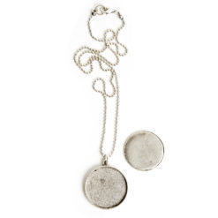 Kit Necklace Grande CircleAntique Silver