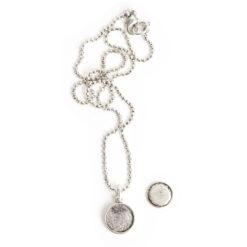 Kit Necklace Mini CircleAntique Silver