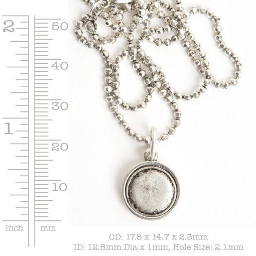 Kit Necklace Mini CircleAntique Gold