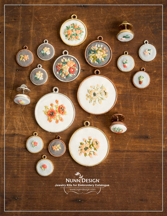 Nunn Design Jewelry Kits for Embroidery Catalogue