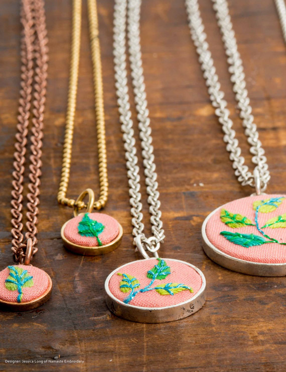Jessica Long Embroidered Bezels