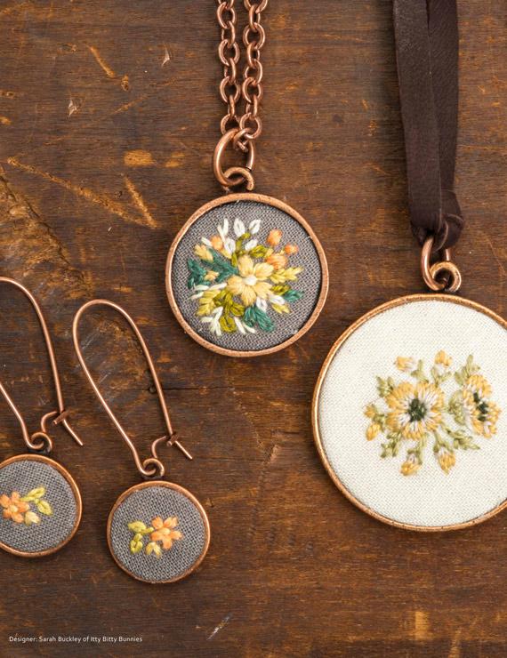 Sarah Buckley Embroidery for Nunn Design