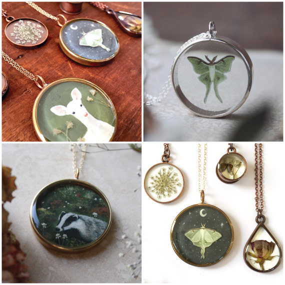 Meadow & Fawn Artist with Nunn Design Findings
