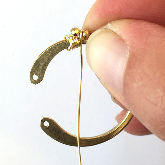 Wire Wrapping Wire Frame Open Circle - wfocl