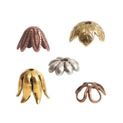 Beadcaps Brass