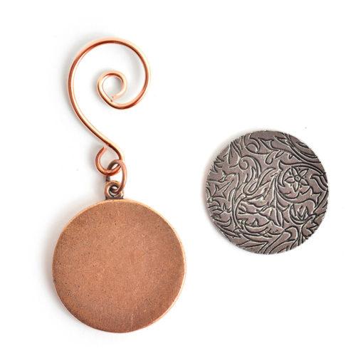 Kit Grande Circle Ornament 1 packAntique Copper