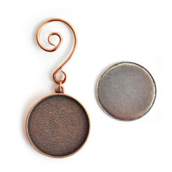 Kit Grande Circle Ornament 1 packAntique Copper