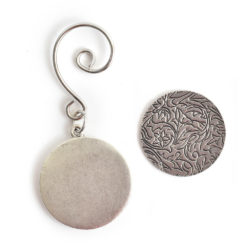 Kit Grande Circle Ornament 1 packAntique Silver