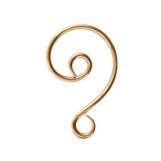 Kit Ornament Hook 1 pack<br>Antique Gold 1