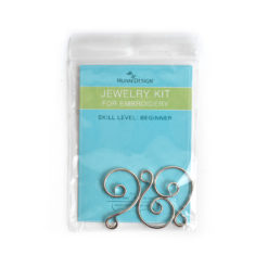 Kit Ornament Hook 3 packAntique Silver