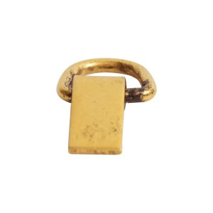 Bail Hinged Loop 6x4mm<br>Antique Gold