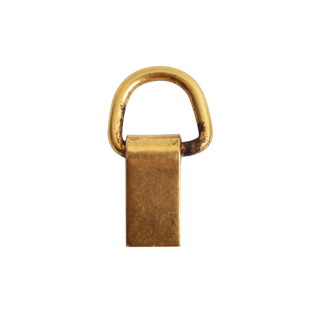 Bail Hinged Loop 6x4mmAntique Gold