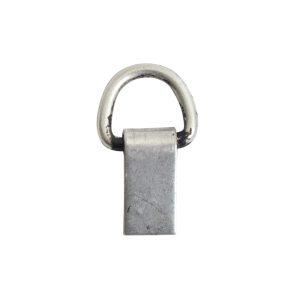 Bail Hinged Loop 6x4mmAntique Silver