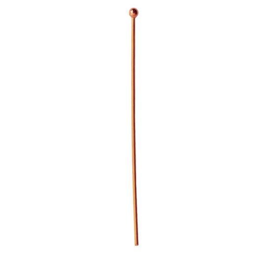 Ball Head Pin 20g<br>Antique Copper 1