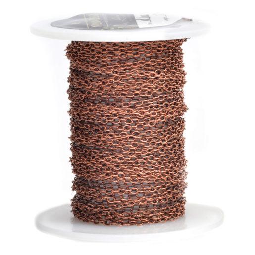 Delicate Link Cable Chain<br>Antique Copper 1