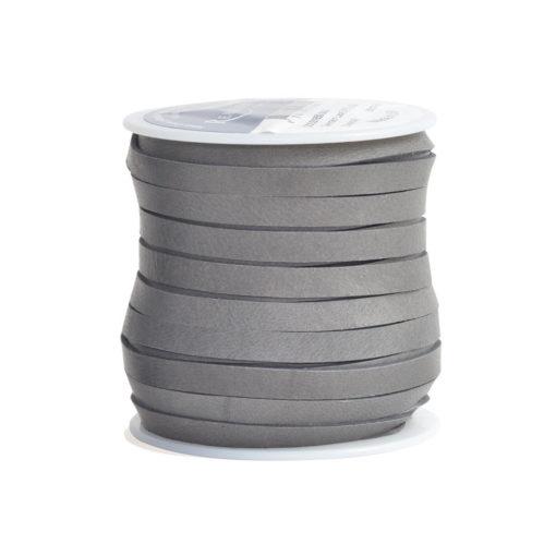 Deerskin Lace 5mm Gray