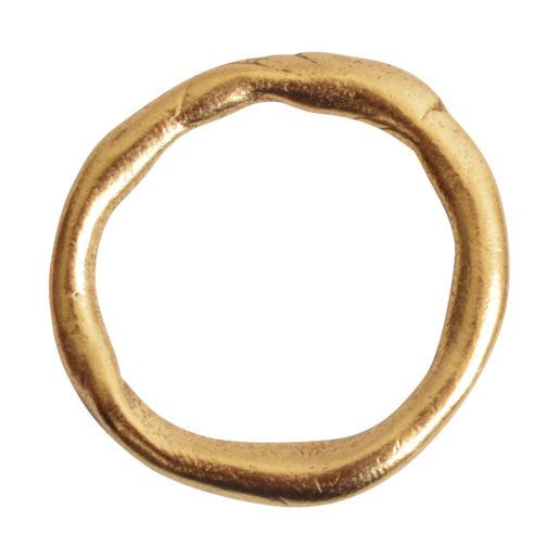 Hoop Organic Grande<br>Antique Gold 1