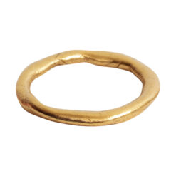 Hoop Organic GrandeAntique Gold