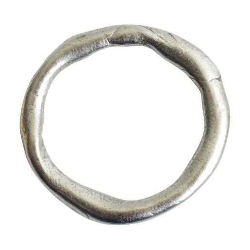 Hoop Organic Grande<br>Antique Silver 1