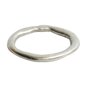 Hoop Organic GrandeAntique Silver