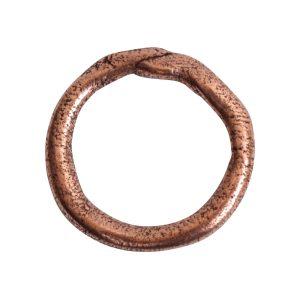 Hoop Organic LargeAntique Copper