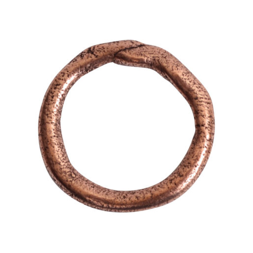 Hoop Organic Large<br>Antique Copper 1
