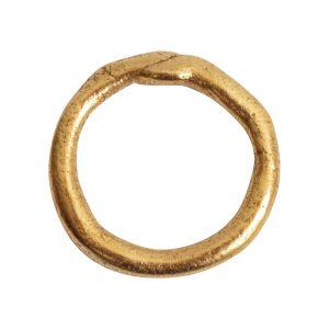 Hoop Organic LargeAntique Gold