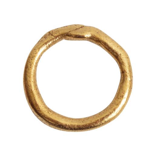 Hoop Organic Large<br>Antique Gold 1