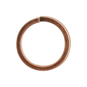Jumpring 12mm Square wire CircleAntique Copper