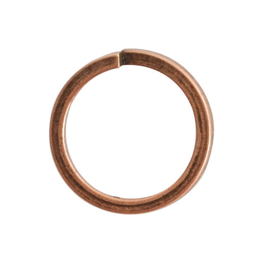 Jumpring 12mm Square wire Circle<br>Antique Copper 1