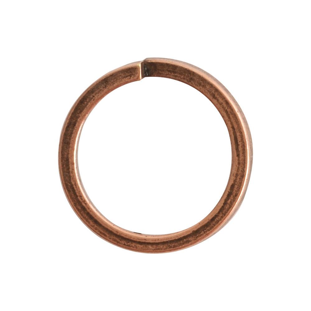 Jumpring 12mm Square wire CircleAntique Copper