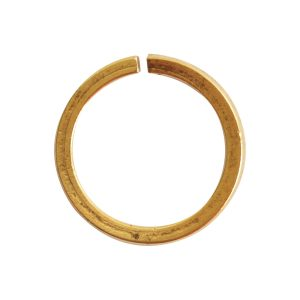 Jumpring 12mm Square Wire Circle<br>Antique Gold